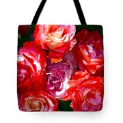 Rose 124 Tote Bag by Pamela Cooper