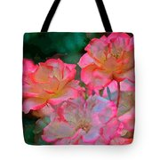 Rose 203 Tote Bag by Pamela Cooper