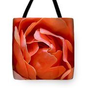 Rose Abstract Tote Bag by Rona Black