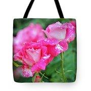 Rose Bonbons Tote Bag by Rona Black