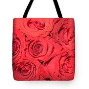 Rose swirls Tote Bag by Sonali Gangane