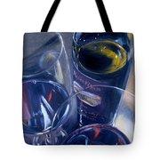 Rosenblum And Glasses Tote Bag by Donna Tuten