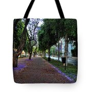 Rothschild Boulevard Tote Bag by Ron Shoshani