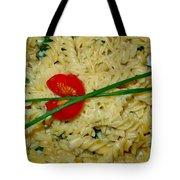 Rotini Alfredo Tote Bag by Karon Melillo DeVega