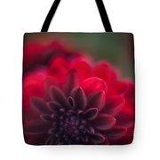 Rouge Dahlia Tote Bag by Mike Reid