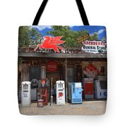 Route 66 - Hackberry General Store Tote Bag by Frank Romeo