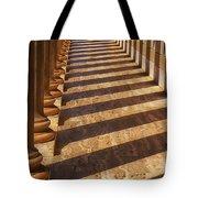 Row of pillars Tote Bag by Garry Gay