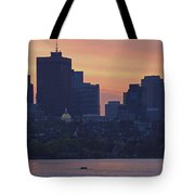 Rowing Boston Tote Bag by Juergen Roth