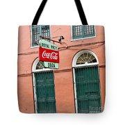 Royal St. Pharmacy Tote Bag by Scott Pellegrin