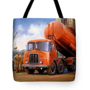 Rugby Cement Thornycroft. Tote Bag by Mike  Jeffries
