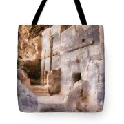 Ruins Tote Bag by Michelle Calkins
