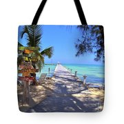 Rum Point Tote Bag by Carey Chen