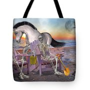 Run with Me Tote Bag by Betsy C  Knapp