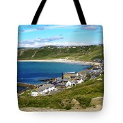 Running To The Beach Tote Bag by Terri Waters