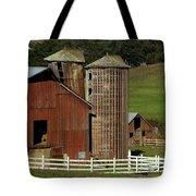 Rural Barn Tote Bag by Bill Gallagher
