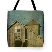 Rural Iowa Barn 5 Tote Bag by Cassie Peters