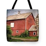 Rustic Barn Tote Bag by Bill  Wakeley