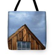Rustic Cabin Window Tote Bag by Jill Battaglia