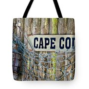Rustic Cape Cod Tote Bag by Bill  Wakeley