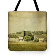 Rustic Farm - Barn Tote Bag by Kim Hojnacki