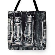 Rustic Lanterns Tote Bag by Kelley King