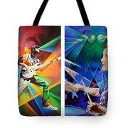 Ryan And Kris Tote Bag by Joshua Morton
