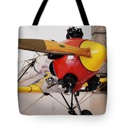 Ryan PT-22 Recruit Tote Bag by Michelle Calkins