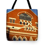 Ryman Auditorium Tote Bag by Brian Jannsen