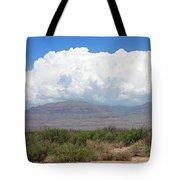 Sacramento Mountains Storm Clouds Tote Bag by Jack Pumphrey