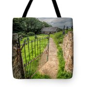 Sacred Path Tote Bag by Adrian Evans