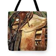 Saddle Texture Tote Bag by Nadi Spencer