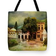 Saidpur Village Tote Bag by Catf