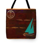 Sail Sail Sail Away - J173131140v3c4b Tote Bag by Variance Collections