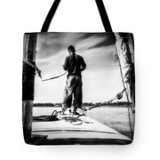 Sailing On The Nile Tote Bag by Erik Brede