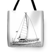 Sailing Sailing Sailing Tote Bag by Jack Pumphrey
