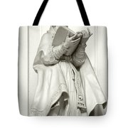 Saint Ambrose - Holy Trinity Cathedral Dresden Tote Bag by Christine Till