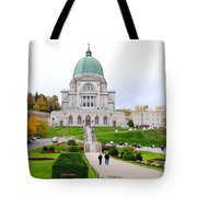 Saint Joseph du Mont Royal Tote Bag by Valentino Visentini
