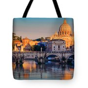 Saint Peters Basilica Tote Bag by Inge Johnsson