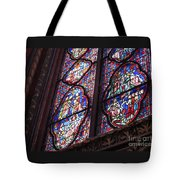 Sainte-chapelle Window Tote Bag by Ann Horn