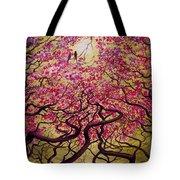 Sakura Tote Bag by Vrindavan Das