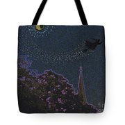 Salem Witch Moon 2 By Jrr Tote Bag by First Star Art