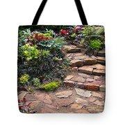 Sally's Garden Tote Bag by Nancy Harrison
