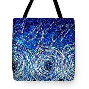 Salt Of The Soul - Drip Painting Art By Commission Tote Bag by Sharon Cummings