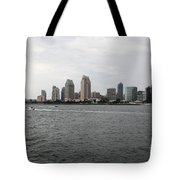 San Diego Skyline 5d24336 Tote Bag by Wingsdomain Art and Photography