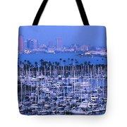 San Diego Twilight Tote Bag by Sandra Bronstein