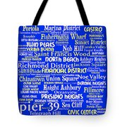 San Francisco 20130710 Tote Bag by Wingsdomain Art and Photography