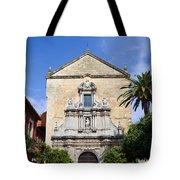 San Francisco Church In Cordoba Tote Bag by Artur Bogacki