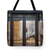 San Francisco Graff Store Doors - 5d20569 Tote Bag by Wingsdomain Art and Photography