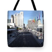 San Francisco Moscone Center And Skyline - 5d20513 Tote Bag by Wingsdomain Art and Photography