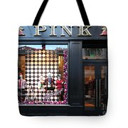 San Francisco Pink Storefront - 5d20565 Tote Bag by Wingsdomain Art and Photography